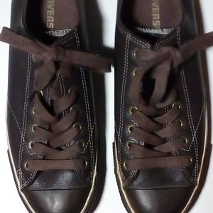 Converse All-Star Brown Leather Low top Nice